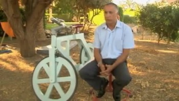 Israelis Create Cardboard Bicycle