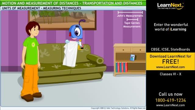 Class6,Science,Motion And Measurement of Distances,Transportation and Distances