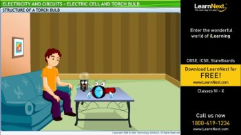 Class6,Science,Electricity And Circuits,Electric Cell and Torch Bulb