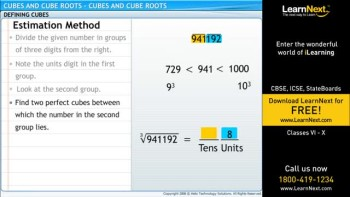Class8_Maths_Cubes and Cube Roots