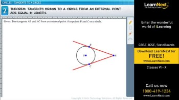 Class 10,Math,Tangent to a Circle