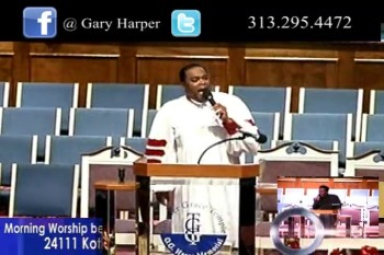"Bishop Gary Harper - Guest speaker Bishop Ira Combs Jr. ""From revelation to elevation."""