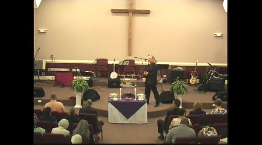 Sunrise Service 2011 - Pastor Carl Bishop - Part 1