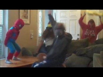 "Just Randomness ""Harlem Shake"""