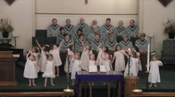 "Trinty United Methodist ""Little Angels"" Dance to ""Jesus Loves Me"""