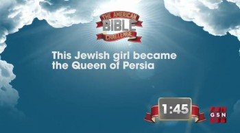 The American Bible Challenge - Trivia Countdown #2