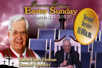 Resurrection Sunday 2013 at Greater Grace Temple - Taylor. You don't want to miss it!