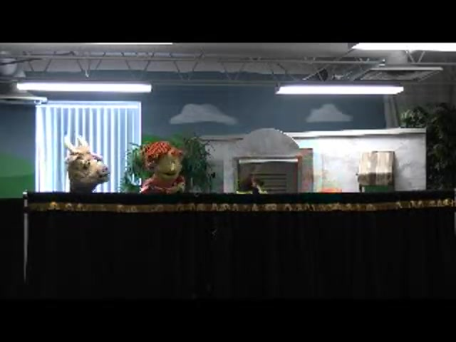 Evergreen puppets 3-17