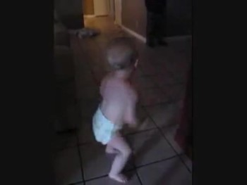 Adorable Baby Has AMAZING Dance Moves!
