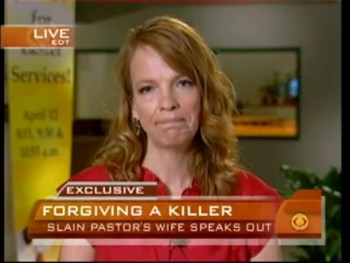 Wife of Murdered Pastor Offers Forgiveness to Killer on National Television