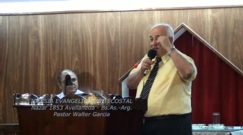 El ngel del Seor cuida de nosotros. Pastor Walter Garcia. 10-03-2013