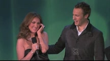 Celine Dion Surprises the Canadian Tenors and Sings Hallelujah With Them!