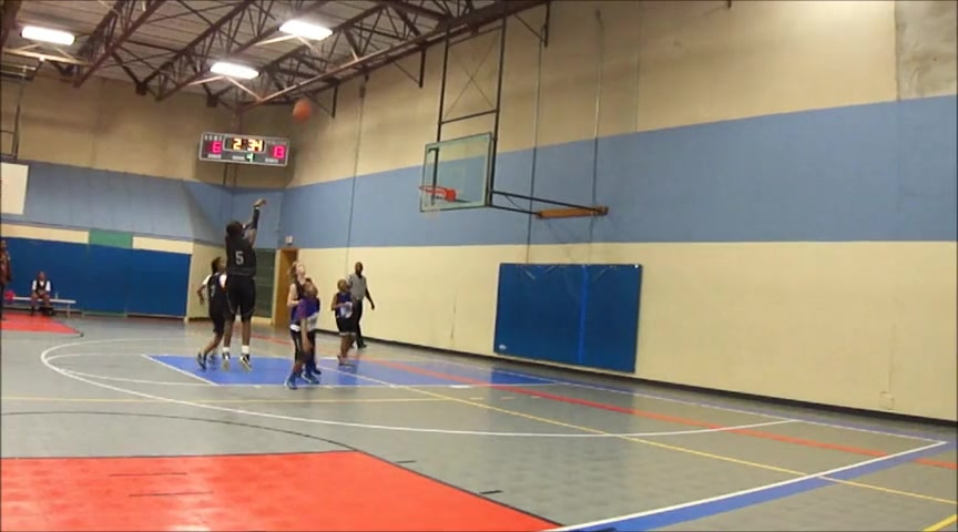 TT 12 year old girl point guard !
