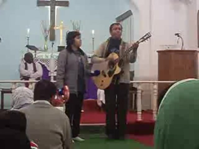 Gospel song by evangelist Hemant & daughter Glory Daniels