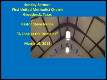 FUMC Sermon - 01/10/2013