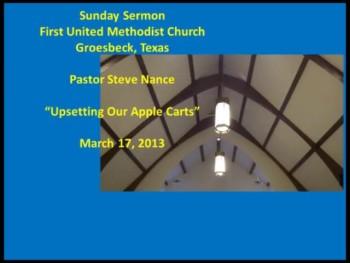 FUMC Sermon - 03/17/2013