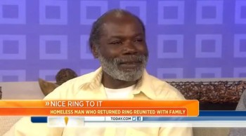 Homeless Man Who Returned Diamond Ring a Gets Surprise Family Reunion!!
