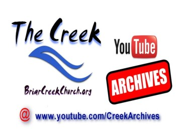 Creek Archives on YouTube