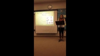 Johannah Christensen's Informative Speech