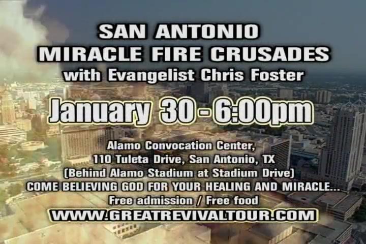 Great Revival Tour / Evangelist Chris Foster