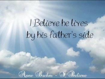 Anne Brehm - I Believe (Official Lyric Video)