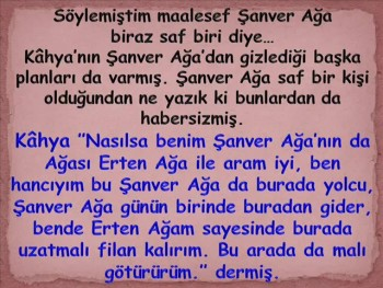 ŞANVER AĞA VE KAHYA FİLMİ