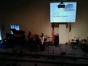 OAK FOREST CHURCH OF CHRIST SPRING CONCERT PART1
