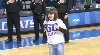 Blind Disabled Girl Sings a Breathtaking Star Spangled Banner