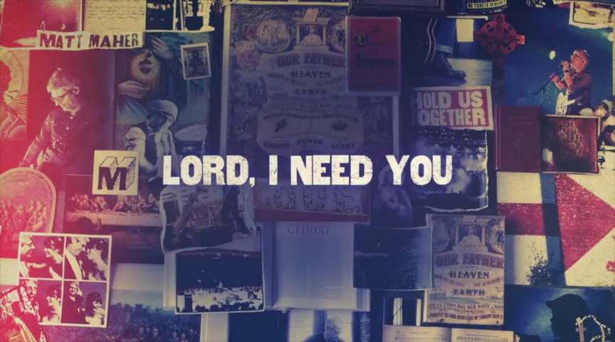 Matt Maher - Lord, I Need You Ft. Audrey Assad (Official Lyric Video)