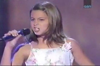 "10 Year-Old Sings Amazing Version of ""Blessed"" on Star Search"