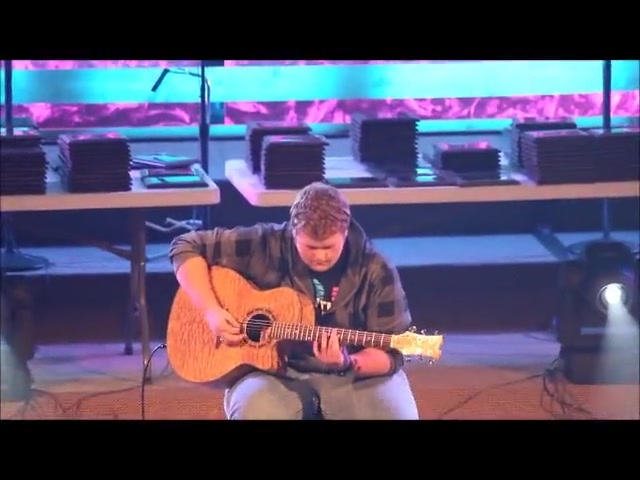 Amazing Grace - 2013 OK Fine Arts #1 Guitar Solo - Chris Ainsworth