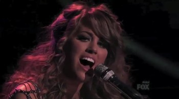 American Idol Contestant Angie Miller Dedicates I'll Stand By You to Boston Victims
