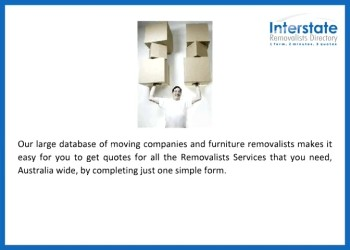 Now Get Multiple Quotes from Interstate Removalists Directory
