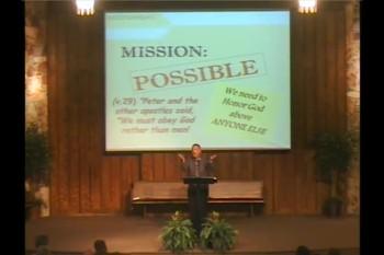 Mission Possible Part 1 - April 7, 2013