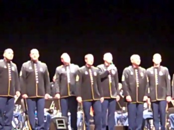 Soldiers Sing Proud to Be An American - Powerful!
