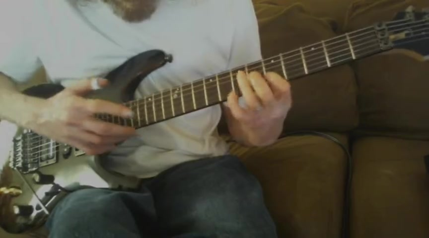 Guitar solo, Revelations - Amazing Grace