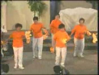 長輩表演 02 敬老主日 2007年10月07日