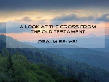 A Look at the Cross from the Old Testament