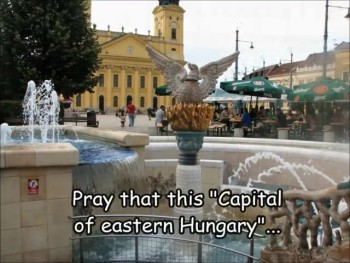 Eastern Hungary virtual prayerwalk: Debrecen