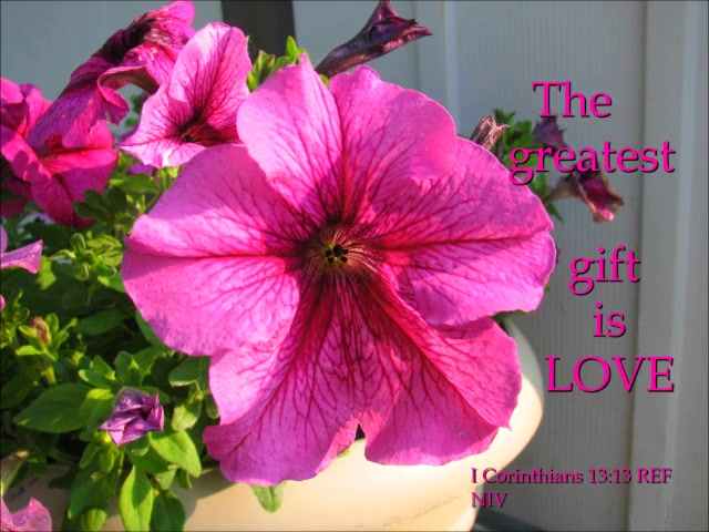 The Greatest Gift is Love