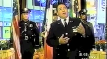 NYPD Officer Spared in the 9/11 Attack Beautifully Sings God Bless America