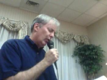 Brian Sanders reading from Matthew