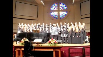 "Carolina Youth Chorale Sings ""E'en So, Lord Jesus Quickly Come"" by Paul Manz"