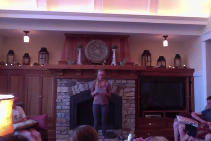 Emma's Persuasive Speech