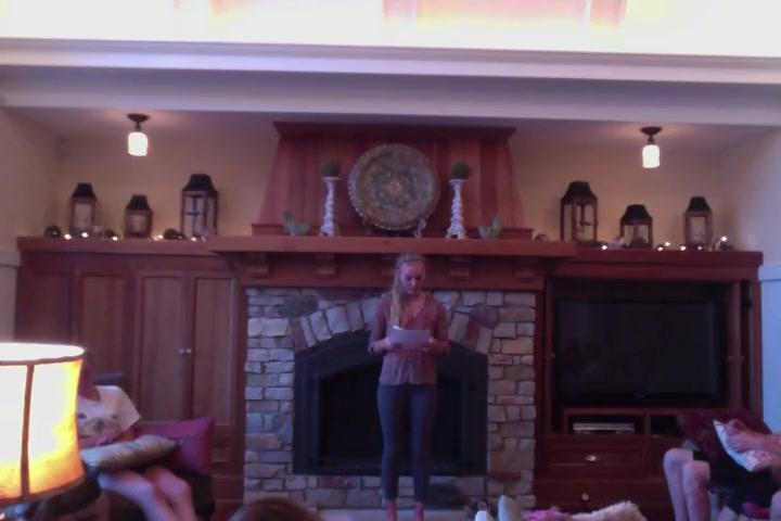 Emma's Tribute Speech