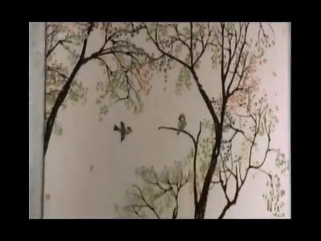 Amazing Painter Paints Fine Chinese Brush Painting