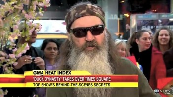 Duck Commander Phil Robertson Gives His Testimony on Good Morning America!