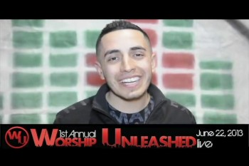 Joel invite to Worship Unleashed