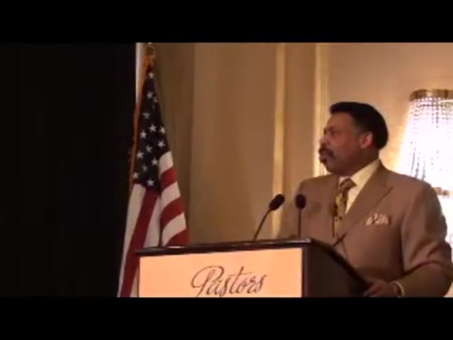Dr. Tony Evans - 560 WFIL Pastor Appreciation Breakfast Philadelphia, April 25, 2013