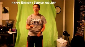 Happy Birthday Connor and Jeff